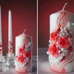 свечи на свадьбу идеи дизайна
