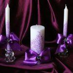 свечи на свадьбу идеи варианты