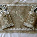 тканевые салфетки своими руками фото декора