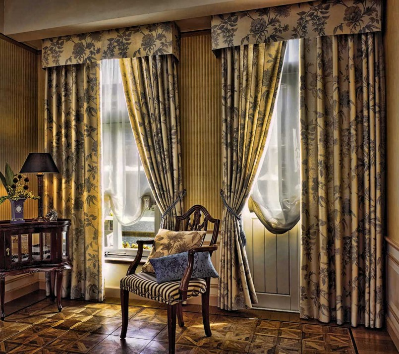 ткани материалы для штор дома