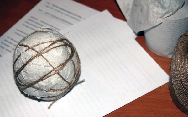 топиарий из салфеток основа