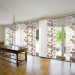 Японские шторы с эко мотивами