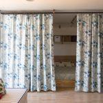 зонирование комнаты шторами варианты дизайна