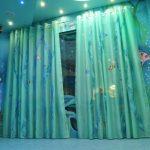 необычные шторы идеи текстиля