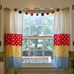 необычные шторы текстиль фото