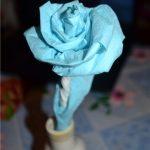 розы из салфеток фото дизайна