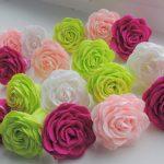 розы из салфеток идеи оформление