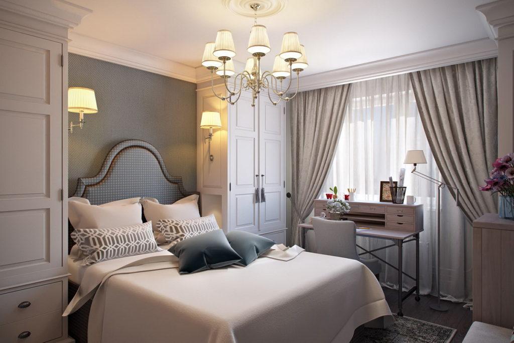 шторы своими руками для спальни