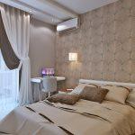 шторы в спальню с балконом идеи дизайна