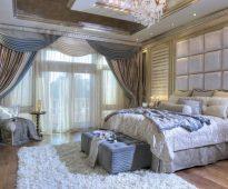 шторы в спальню с балконом идеи интерьера