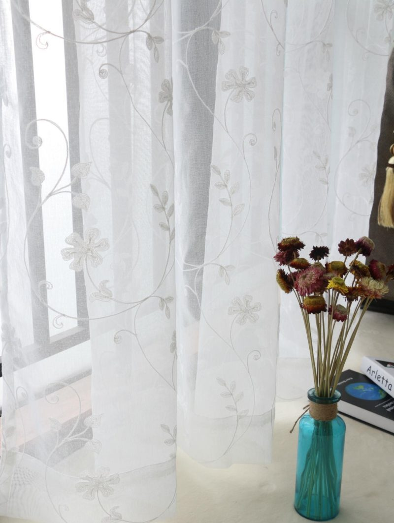 тюль на окна дизайн