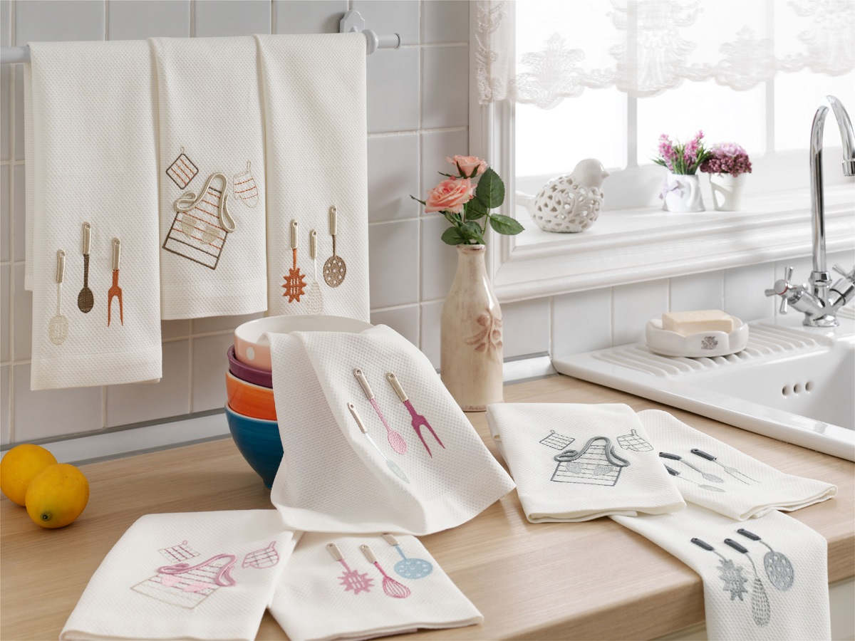 чем отстирать кухонные полотенца идеи фото
