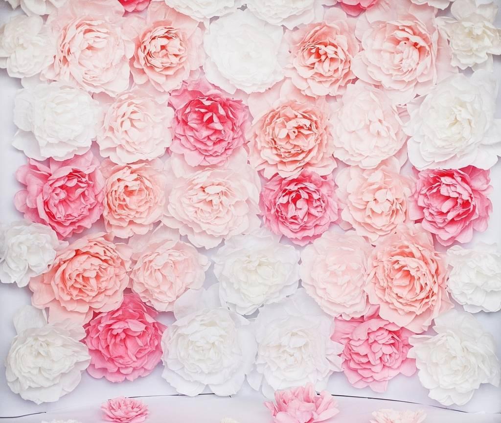 цветы из салфетки