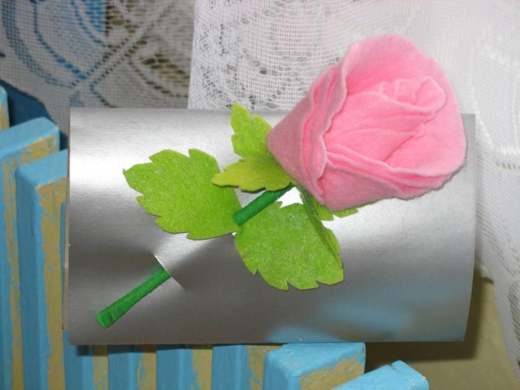 цветы из вискозных салфеток фото