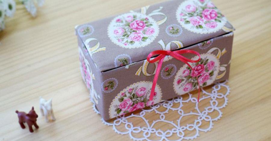 декор коробки фото варианты