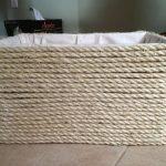 декорирование коробок веревкой