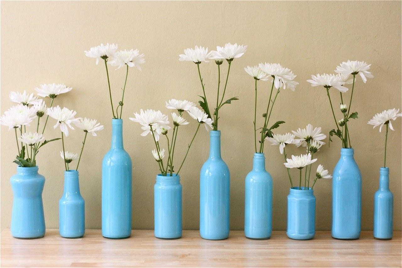 декор вазы окрашивание