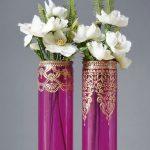 декор вазы своими руками дизайн