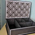 декорирование коробок оформление фото
