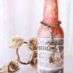 декупаж бутылок своими руками дизайн