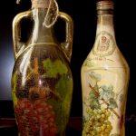 декупаж винных бутылок фото декор
