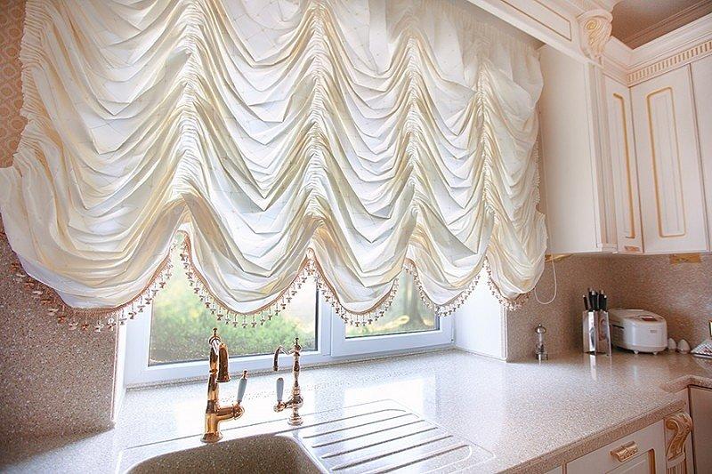 французские шторы фото дизайна