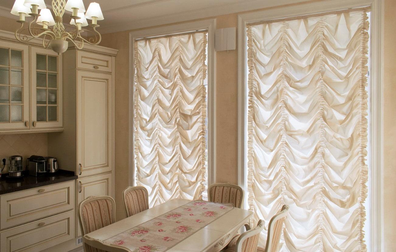 французские шторы идеи оформления