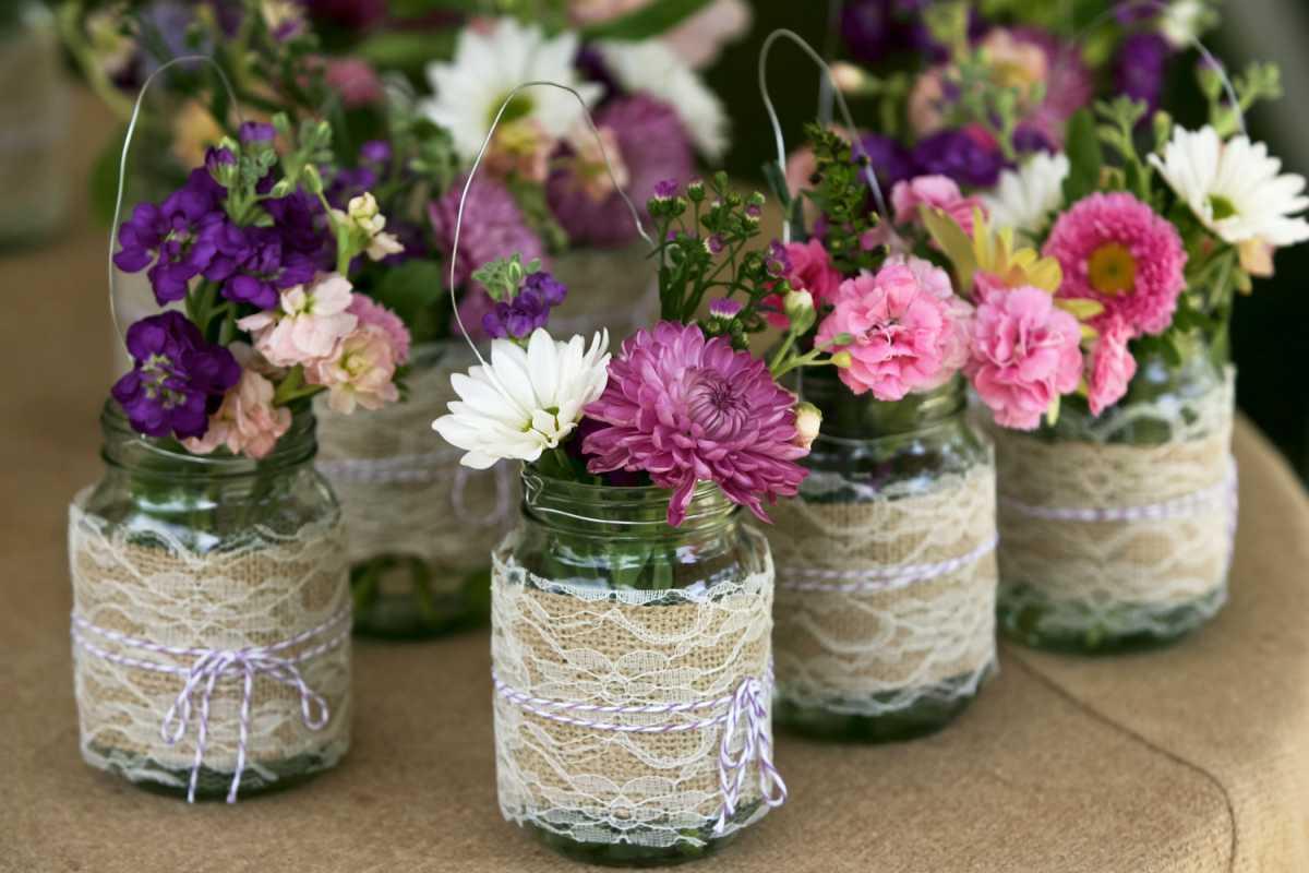 идеи декора вазы
