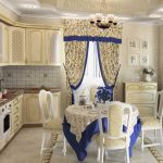 декор штор кухонных
