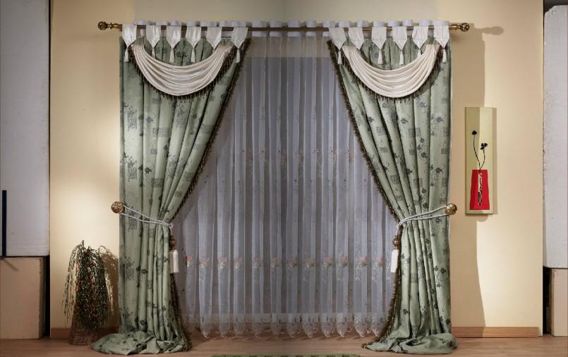 как декорировать шторы дизайн идеи