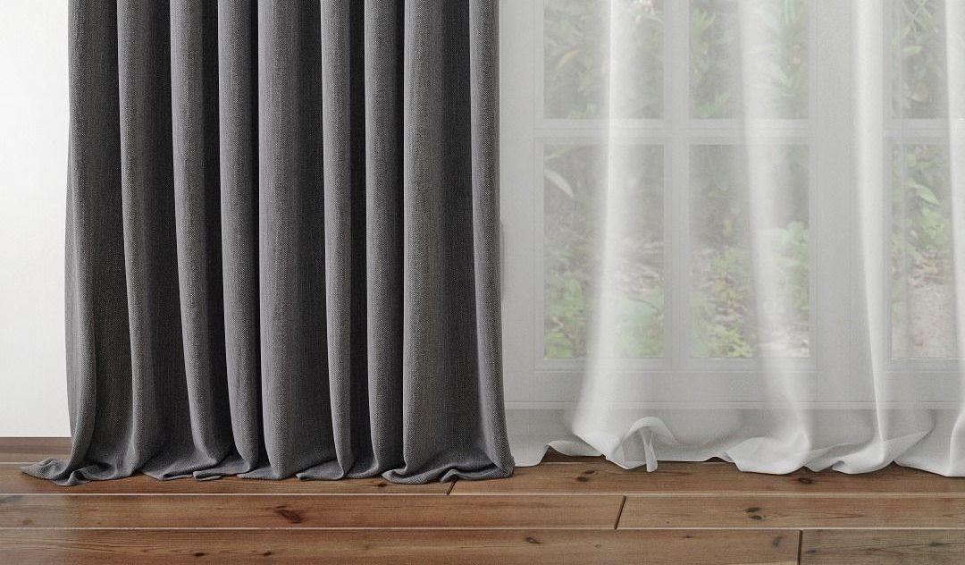 как подшить шторы