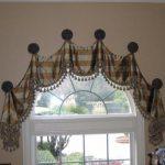 как повесить шторы без карниза дизайн