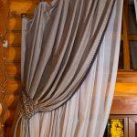как повесить шторы без карниза дизайн идеи
