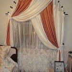 как повесить шторы без карниза идеи интерьера