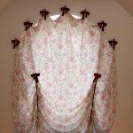 как повесить шторы без карниза оформление