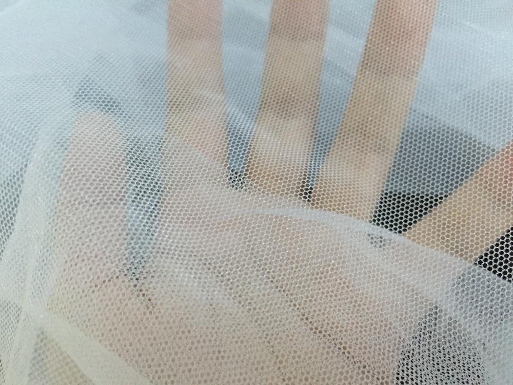 как сшить порванный тюль сетку