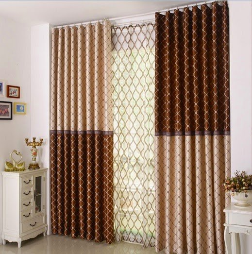 комбинированные шторы фото варианты