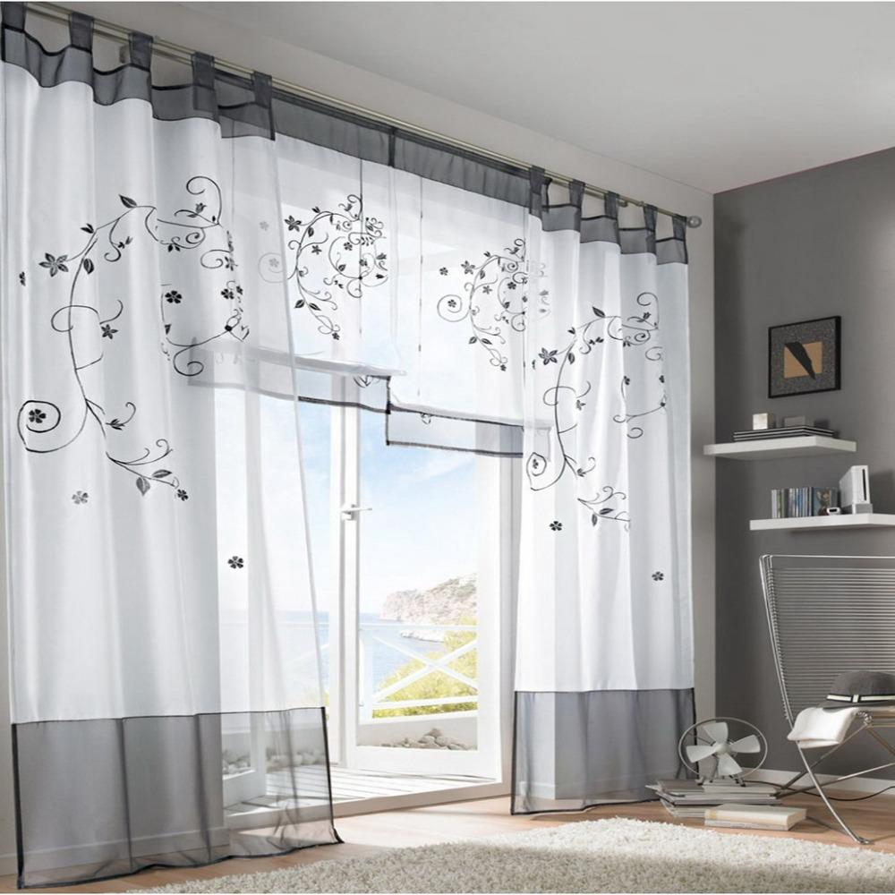 легкие шторы в интерьере