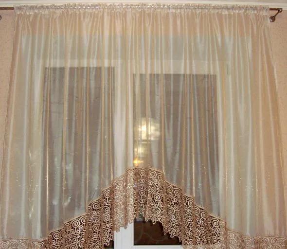 можно изменить размер шторы