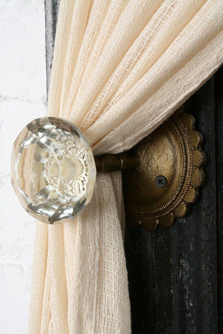 подхваты для штор дверная ручка