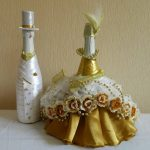 шампанское в платье