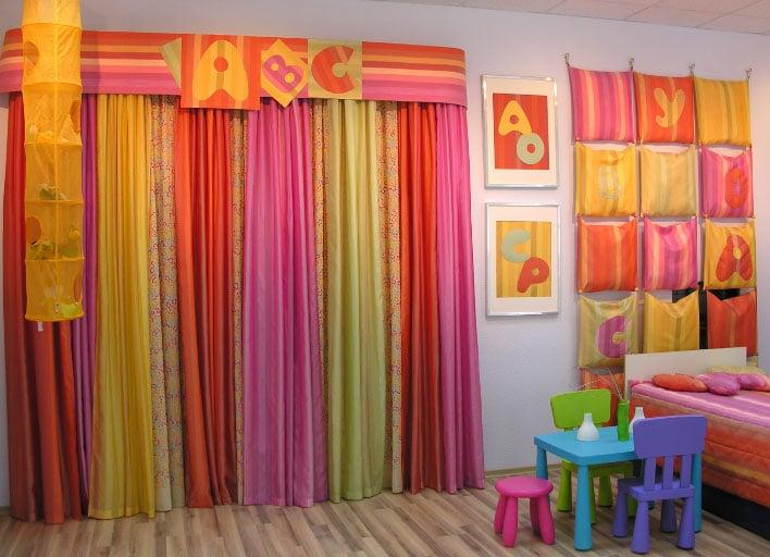шторы для детского сада идеи варианты