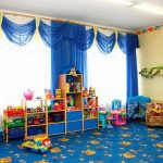 шторы для детского сада интерьер