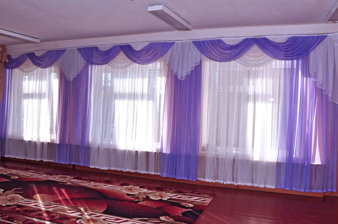шторы для детского сада оформление идеи