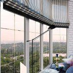 шторы на панорамные окна дизайн