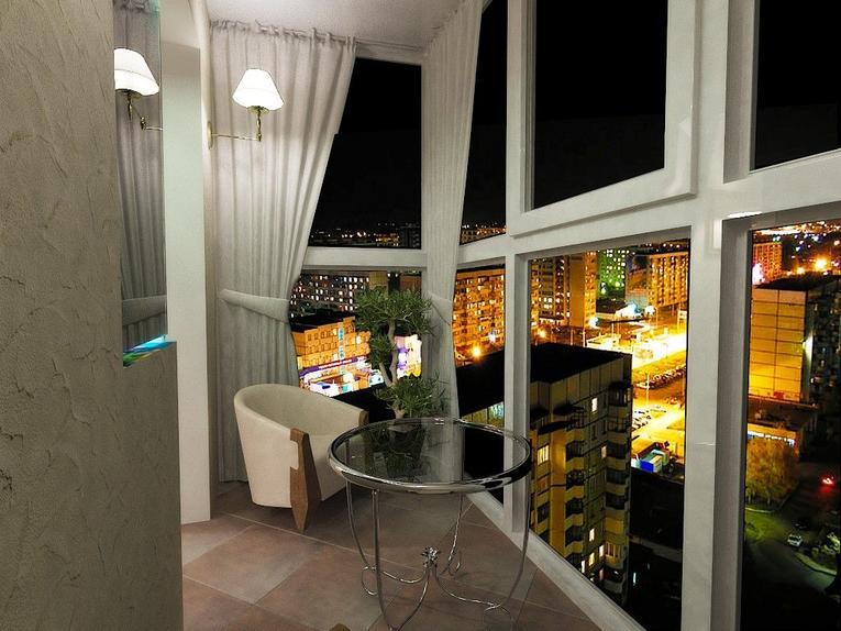 шторы на панорамные окна фото декор