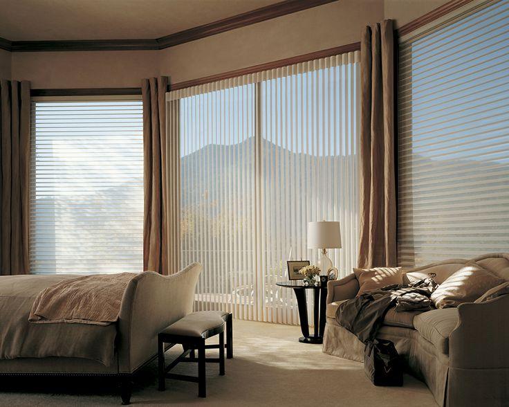 шторы на панорамные окна фото идеи