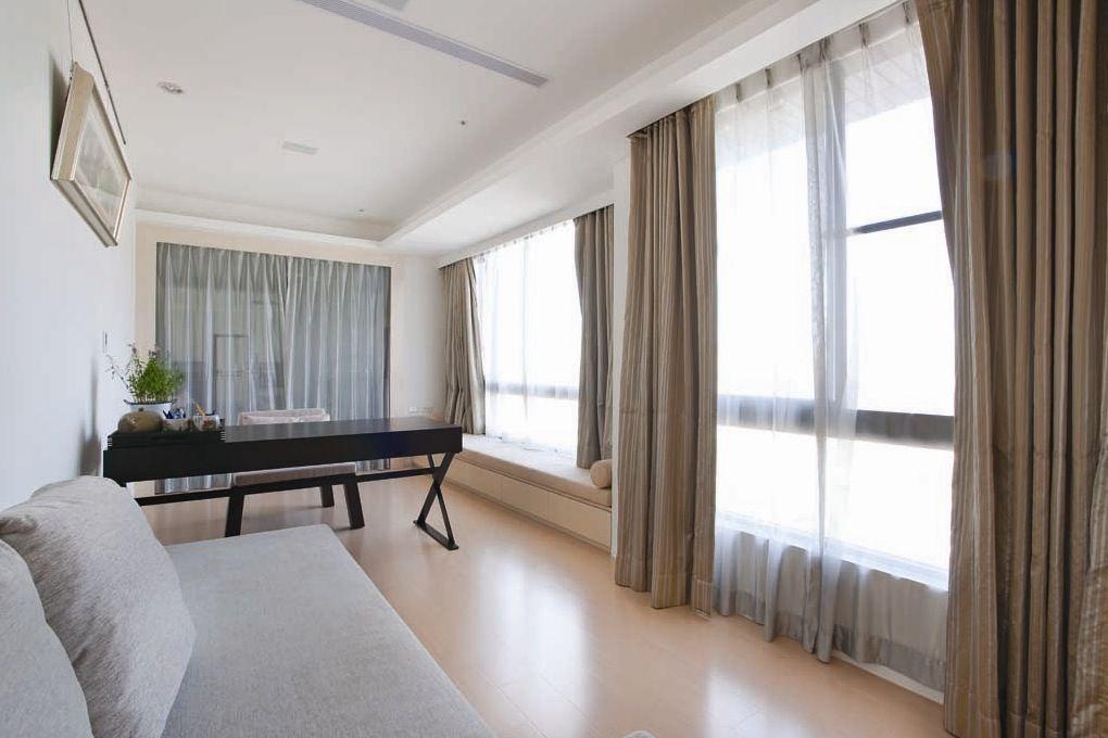шторы на панорамные окна идеи декора