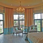 шторы на панорамные окна идеи дизайн