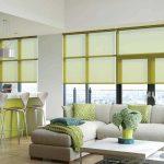 шторы на панорамные окна идеи текстиль